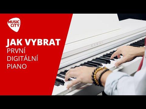 Jak vybrat digitální piano nebo klávesy pro začátečníka | Music City