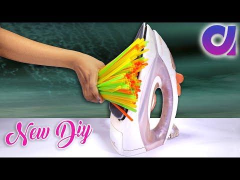 diy new amazing drinking straw reuse ideas you've ever seen | Artkala 217