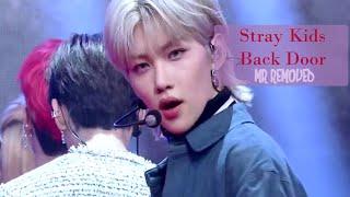 MR REMOVED | Back Door - Stray Kids(스트레이 키즈) [뮤직뱅크/Music Ban…