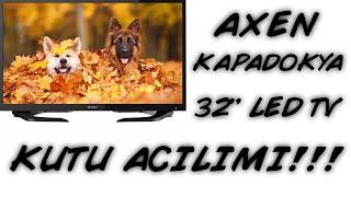 AXEN KAPADOKYA 32'' (82 EKRAN) LED TV KUTU AÇILIMI