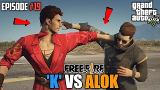 GTA X FREEFIRE : DJ 'K ' VS DJ ALOK  MEGA BATTLE