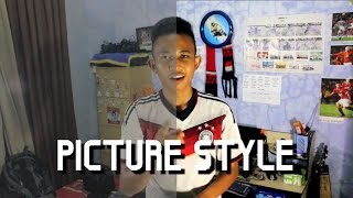 Cara Instal Picture Style pada Canon DSLR