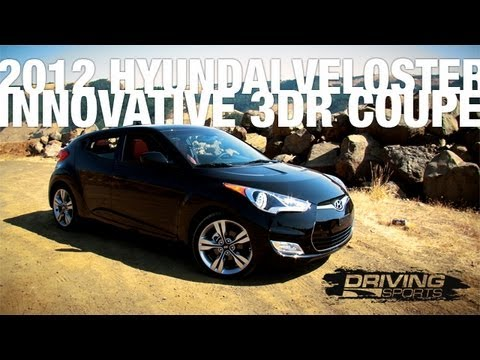 Driving Sports TV 2012 Hyundai Veloster Reviewed