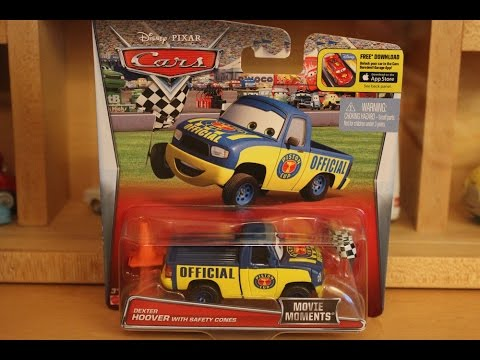 Mattel Disney Cars 2016 Dexter Hoover with Safety Cones Movie Moments