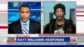 KATT WILLIAMS SPEAKS ON CNN ABOUT MEXICAN RANT!