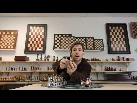 Chess Set Review: Modern Glass and Acrylic Staunton