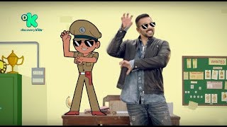 Little Singham Tamil Teaser with Rohit Shetty - Kids Cartoon @ Discovery Kids