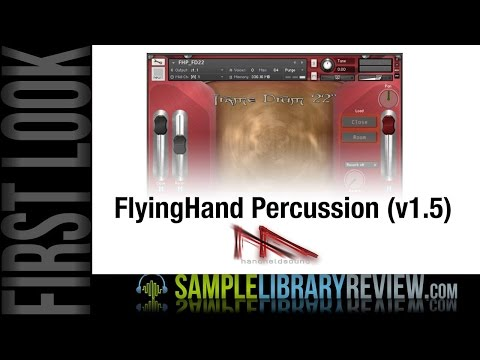 First Look • Review FlyingHand Percussion 1.5 from Handheld Sound