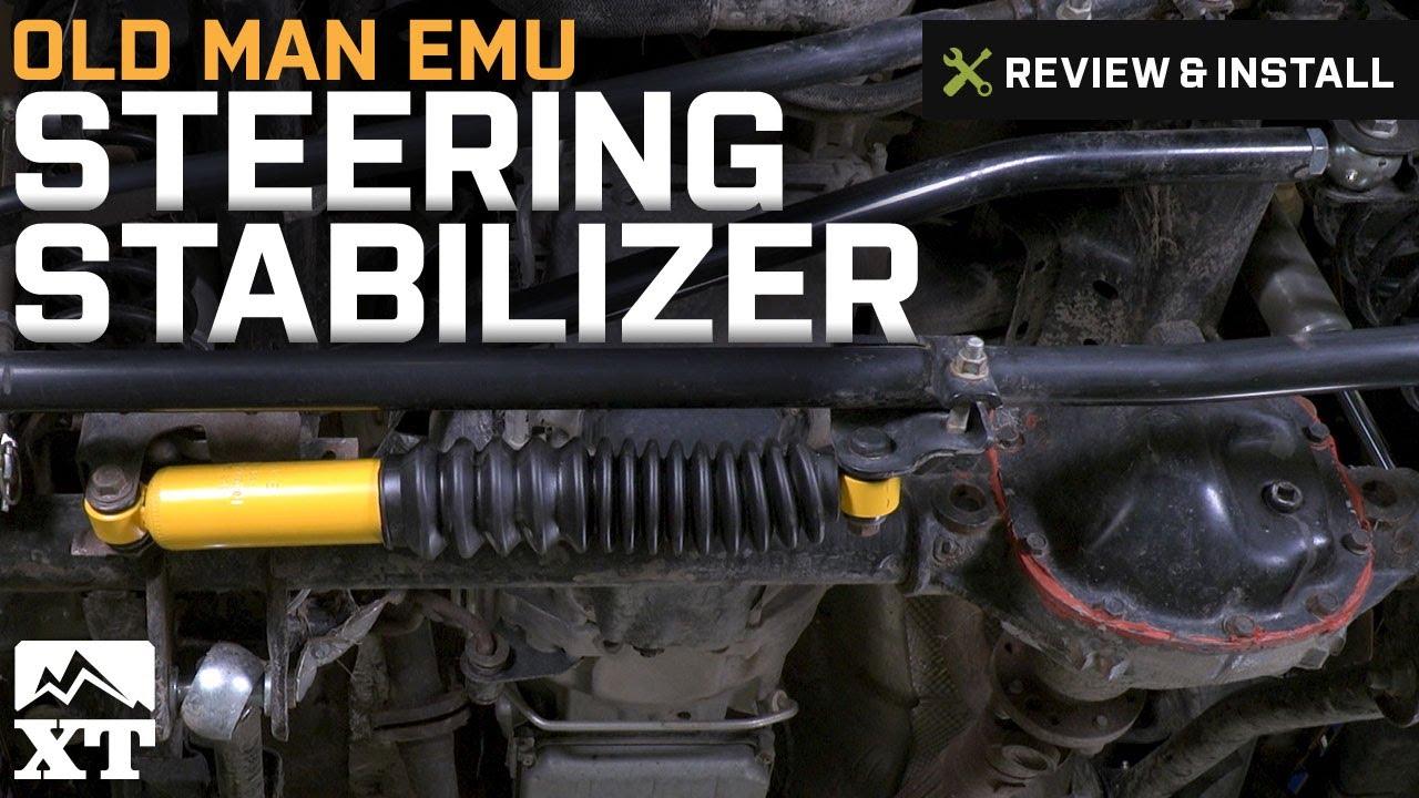Attractive Jeep Wrangler Old Man Emu Steering Stabilizer (2007 2017 JK) Review U0026  Install