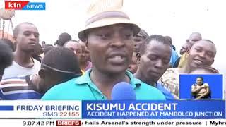 3 people die in a road accident in Kisumu