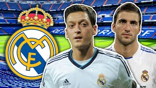 Real Madrid Rejects XI | Casillas, Özil & Higuaín!