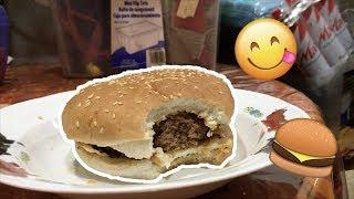 Attempting to Make a Hamburger! *A MESS*