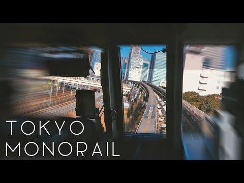 Tokyo Monorail   Driver's POV on Haneda Air Port Line - 4K60p
