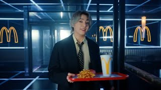 if the bts mcdonald's commercial was dubbed
