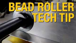 How to Get a CRISP Bent Edges Using a Bead Roller - Tech Tips from Eastwood