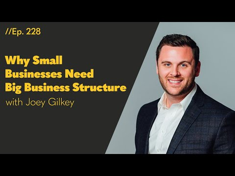 Why Small Businesses Need Big Business Structure - 228