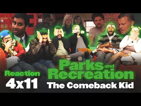 Parks And Recreation - 4x11 The Comeback Kid - Group Reaction