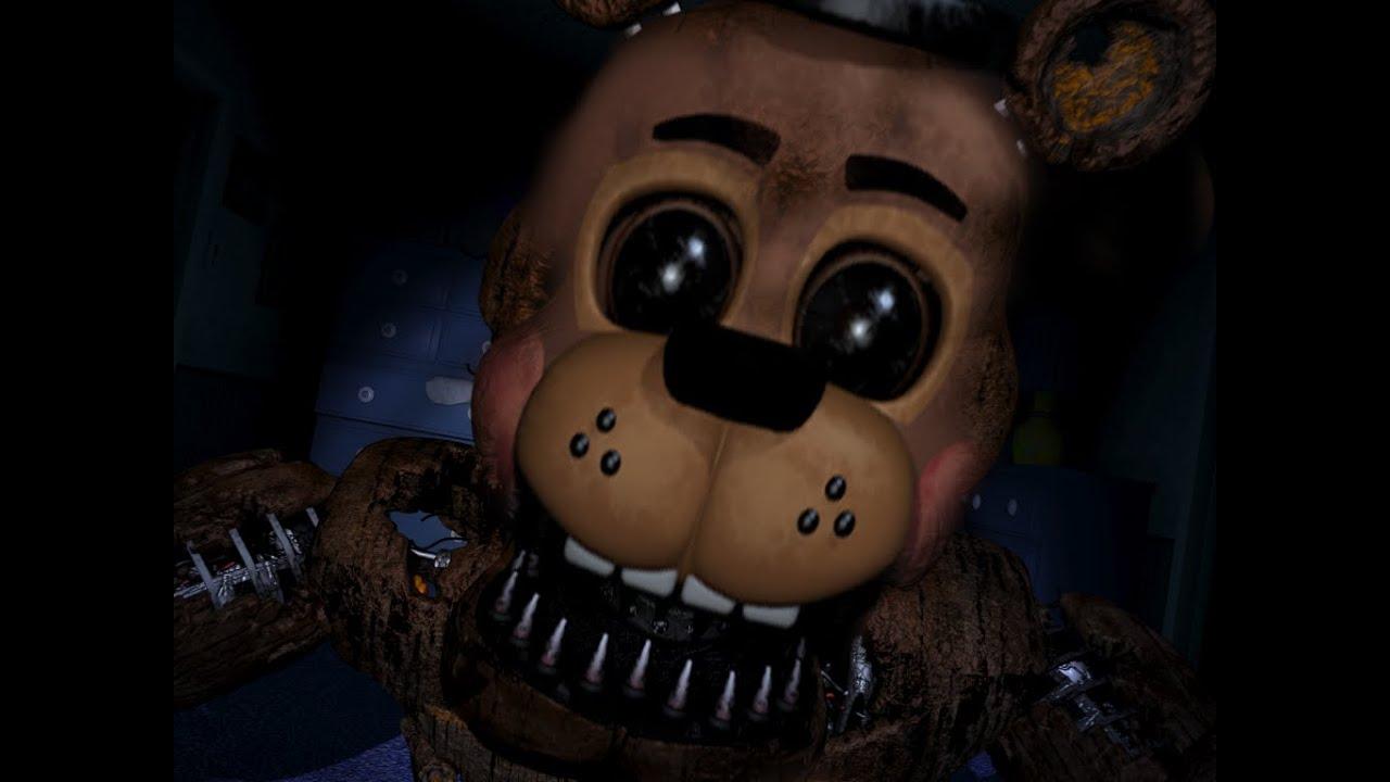 Nightmare toy freddy jumpscare?! (FNAF4)