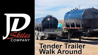 JD Skiles Semi Tender Trailer