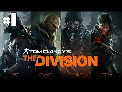 Tom Clancy's The Division - Playthrough Coop #1 [FR]