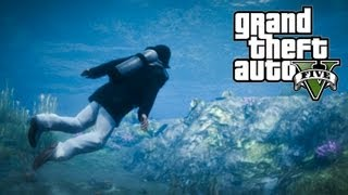 ★ GTA 5 - How to Get SCUBA DIVING SUIT from the Beginning!