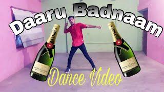 Daaru Badnaam_Punjabi Super Hit Song_Dance Cover_Anshu Shivhare Dance Choreography