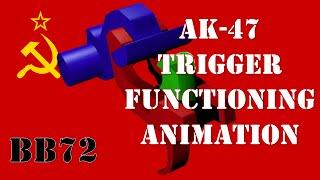 3D-Animation - AK-47-Trigger Funktionieren