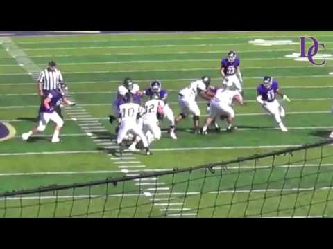 Defiance College Football Highlight - 2015