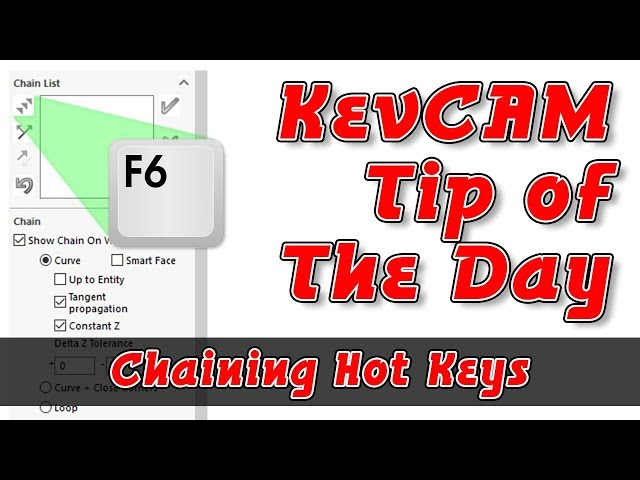 Tip of the Day - Chaining Hot Keys