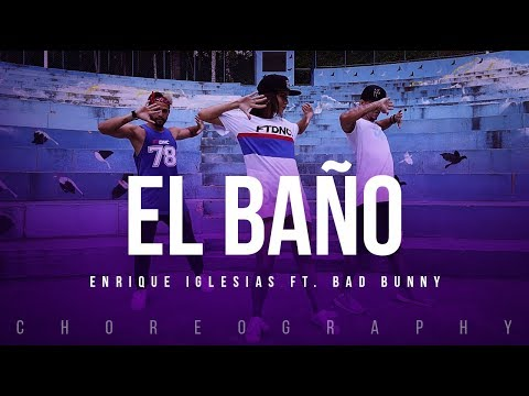 El Baño - Enrique Iglesias ft. Bad Bunny | FitDance Life (Coreografía) Dance Video