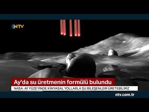 Ay'da su üretmenin formülünü bulundu