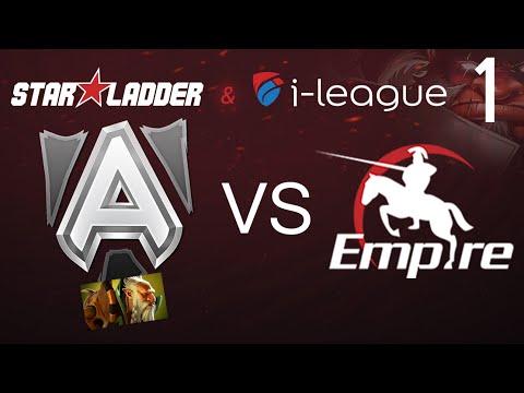 Alliance Vs Empire Game 1 Sl I League Eu Llama Youtube