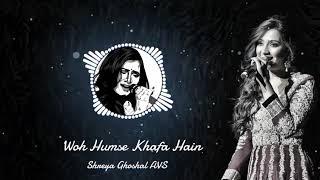 Woh Humse Khafa Hain | Tumsa Nahin Dekha | Shreya Ghoshal, Udit Narayan | AVS