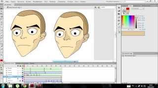 Урок 2 flash- анимация формы, тени, класичиская анимация подобная school 13 игрооргии
