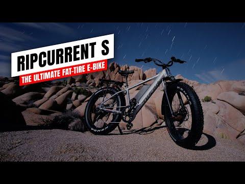 The RipCurrent S - The Ultimate Fat-Tire E-Bike