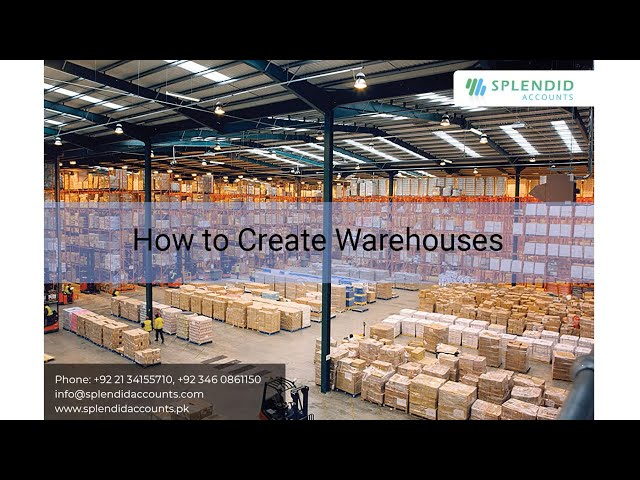 How to Create multiple Warehouses