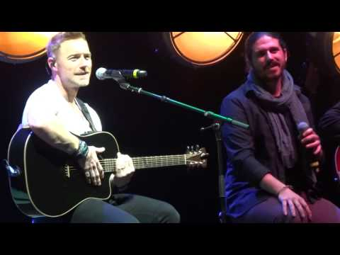 Ronan Keating & Metaxas - Baby Can I Hold You - London, Eventim Apollo (29.09.2016)