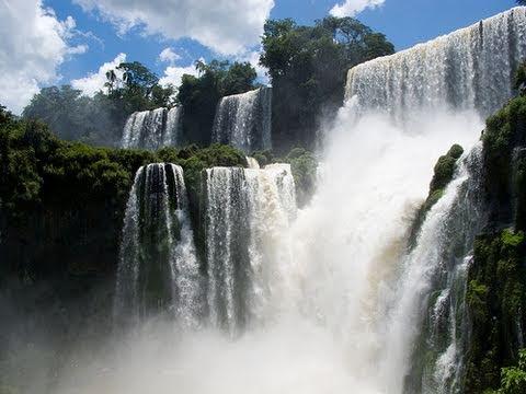 Iguazu Falls Brazil Wallpaper Iguazu Falls In Hd Argentina Youtube