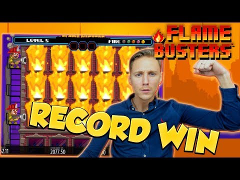 RECORD WIN!!! Flame Busters Big win - Casino - free spins (Online Casino)