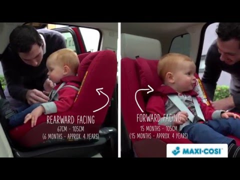 Maxi-Cosi 2wayPearl | Features and benefits