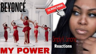 "Beyoncé  ""MY Power"" Reaction Video"