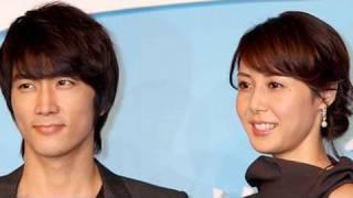 アサヒ・コム動画 http://www.asahi.com/video/ 女優の松嶋菜々子と韓国...
