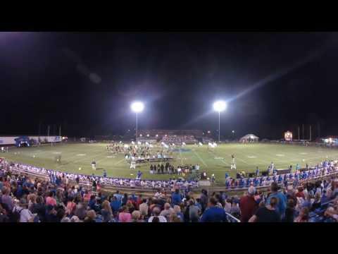 Amory High School Band 8/26/2016