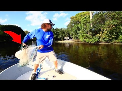 Ultimate Cast Net Fishing - Sheepshead Struggle