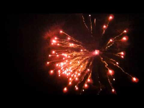 25 x Bright Star War Hawks Rocket Firework - Natural Number Sequence