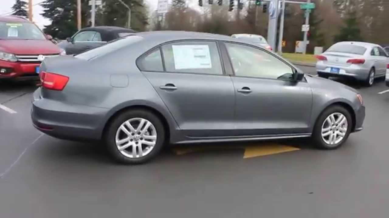 volkswagen jetta platinum gray metallic stock  walk  youtube
