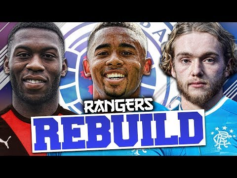 REBUILDING RANGERS!!! FIFA 18 Career Mode