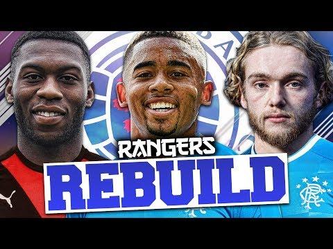 REBUILDING RANGERS!!! FIFA 18 Career Mode