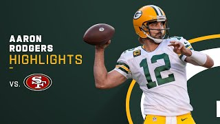 Aaron Rodgers Best Throws from 261-Yd Night | NFL 2021 Highlights