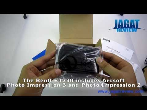 Unboxing BenQ E1230 Digital Camera